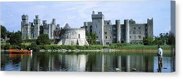 Ashford Castle, Lough Corrib, Co Mayo Canvas Print by The Irish Image Collection
