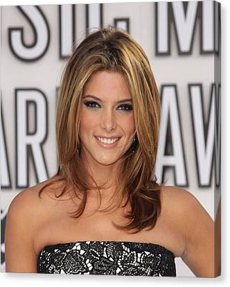 Ashley Greene At Arrivals For 2010 Mtv Canvas Print by Everett
