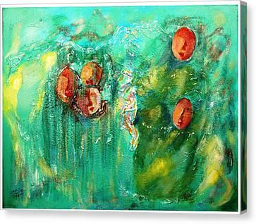 Asmaa Canvas Print by Alia Al Wahab