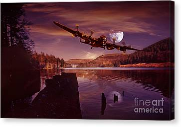 At The Going Down Of The Sun Canvas Print by Nigel Hatton