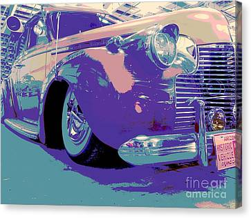At The Show Canvas Print by Chuck Re