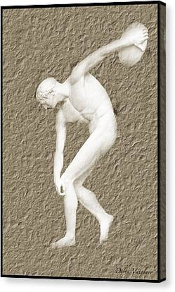 Athlete Canvas Print by Debra     Vatalaro