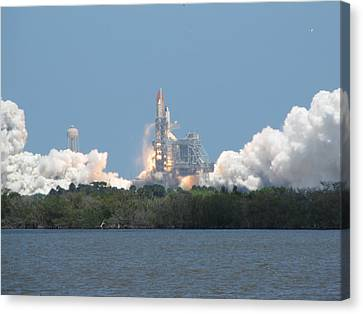 Atlantis Lift Off Canvas Print by Keith Stokes