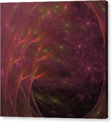 Atmospherical - A Fractal Creation Canvas Print by Gina Lee Manley