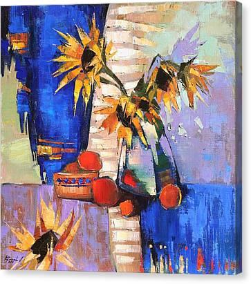 August Canvas Print by Anastasija Kraineva