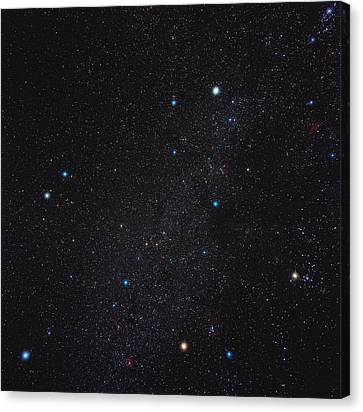 Auriga Constellation Canvas Print by Eckhard Slawik