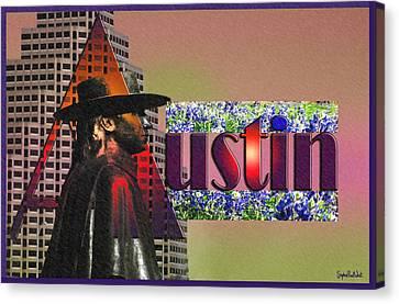 Austin City Limits Canvas Print by Stephen Paul West