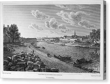 Austria: Vienna, 1821 Canvas Print by Granger