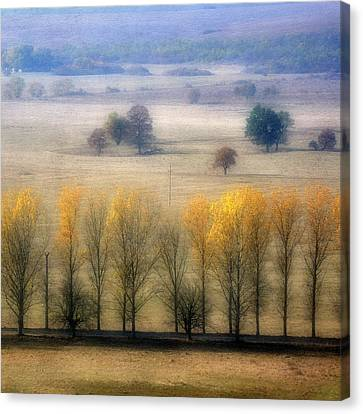 Autumn At Blumenthal Canvas Print by Old&timer Imagery