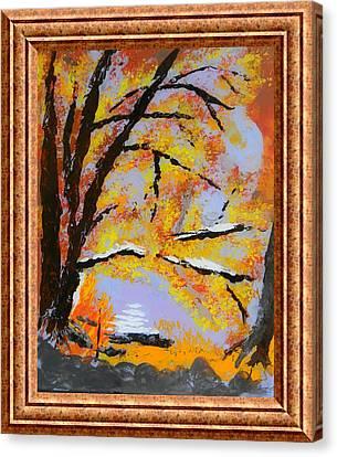 Autumn Dreaming  Canvas Print by Warren Thompson