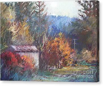 Autumn Glory Canvas Print by Pamela Pretty