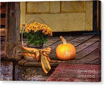 Autumn Canvas Print by Lois Bryan