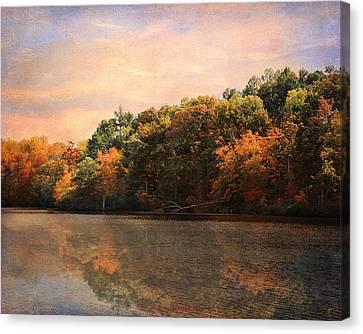Autumn Reflections 2 Canvas Print by Jai Johnson