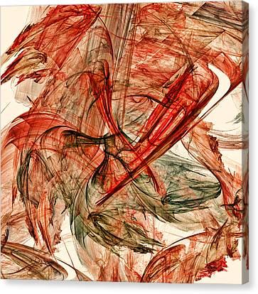 Autumn Canvas Print by Sharon Lisa Clarke