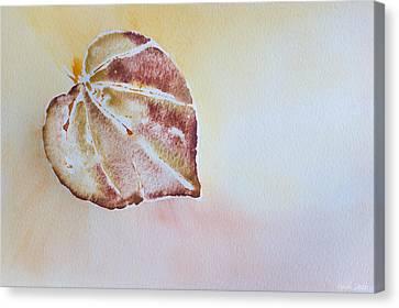 Autumn Shimmer Canvas Print by Heidi Smith