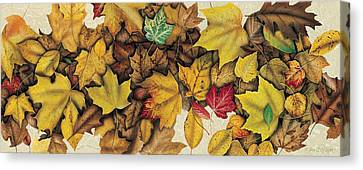 Autumn Splendor Canvas Print by JQ Licensing