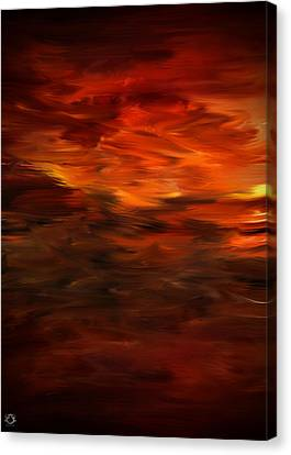 Autumn's Grace Canvas Print by Lourry Legarde