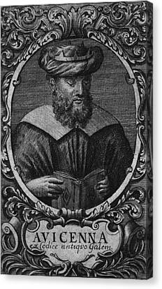 Avicenna 980-1037, Persian Philosopher Canvas Print by Everett