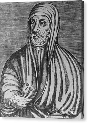 Avicenna, Persian Polymath Canvas Print by Photo Researchers