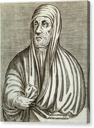 Avicenne 980-1037, In Arabic Called Ibn Canvas Print by Everett