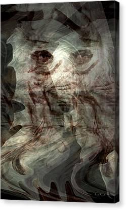 Awaken Your Mind Canvas Print by Linda Sannuti