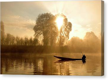Awakening   (kashmir,india) Canvas Print by PKG Photography