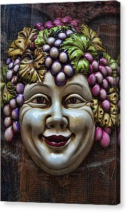 Bacchus God Of Wine Canvas Print by David Smith