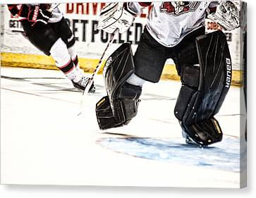 Back To The Crease Canvas Print by Karol Livote