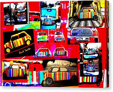 Bali Paul Smith Fake Minis Canvas Print by Funkpix Photo Hunter
