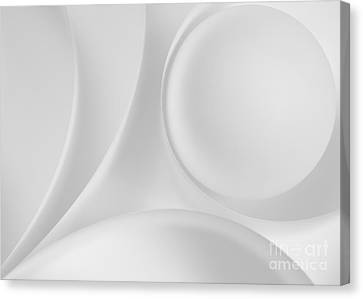 Ball And Curves 08 Canvas Print by Nailia Schwarz