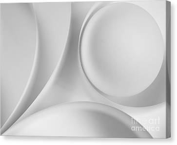 Ball And Curves 09 Canvas Print by Nailia Schwarz