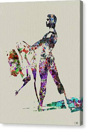 Ballet Dance Canvas Print by Naxart Studio