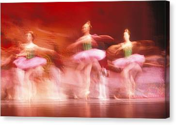 Ballet Dancers Canvas Print by John Wong