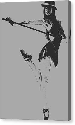 Ballet Girl Canvas Print by Naxart Studio