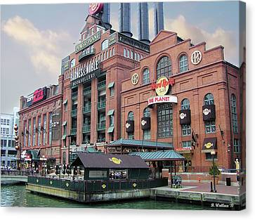 Baltimore Power Plant Canvas Print by Brian Wallace