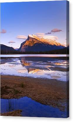Banff National Park, Alberta, Canada Canvas Print by Carson Ganci