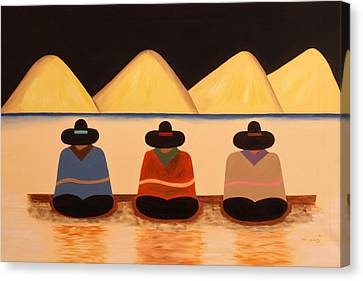 Banus Canvas Print by Damaris Munoz Arias