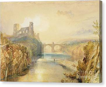 Barnard Castle  Canvas Print by Joseph Mallord William Turner