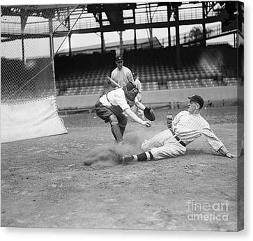 Baseball Game, C1915 Canvas Print by Granger