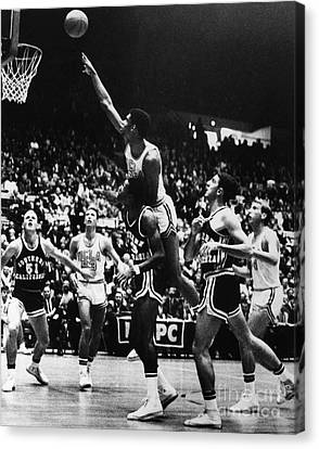 Basketball Game, 1966 Canvas Print by Granger