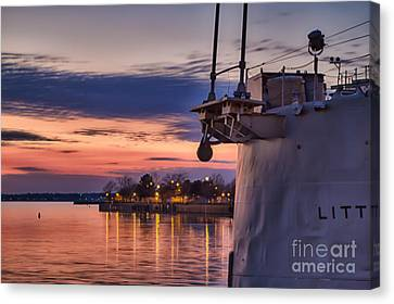 Basking Canvas Print by Chuck Alaimo