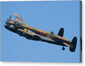 Bbmf Lancaster Bomber 2 Canvas Print by Ken Brannen