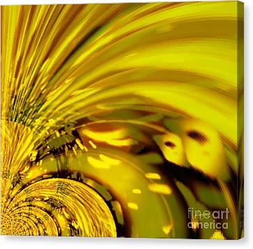 Be Magnified Canvas Print by Fania Simon