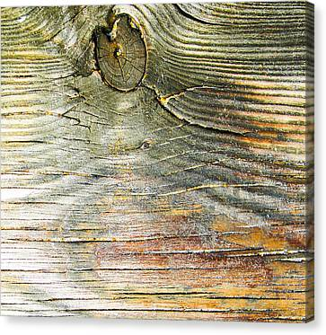 Beach Boardwalk Abstract Canvas Print by Christy Usilton