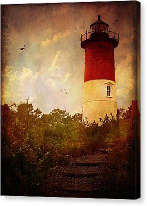 Beacon Of Hope Canvas Print by Lianne Schneider