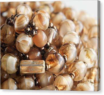 Bead Necklace Canvas Print by Blink Images