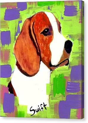 Beagle Canvas Print by Char Swift