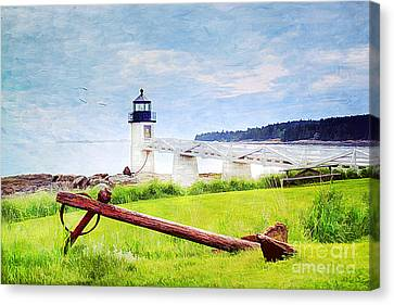 Beautiful Maine Canvas Print by Darren Fisher