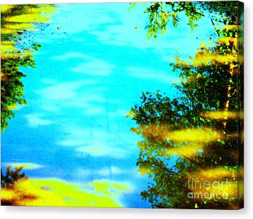 Beautiful Summer Day Canvas Print by Pauli Hyvonen