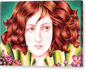 Beauty Canvas Print by Muna Abdurrahman